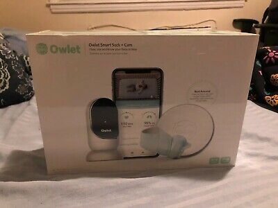 Owlet 2.0 Smart Sock Plus Cam Bundle Baby Camera Heart Rate Monitor Sealed New