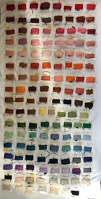 DMC Embroidery Floss Lot 135 Skein Cards