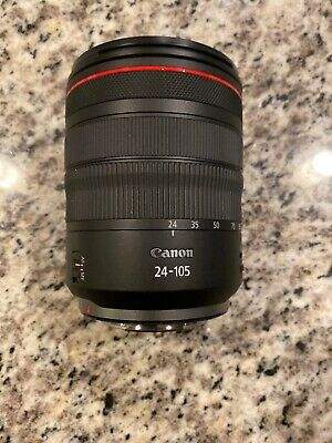 Canon RF 24–105mm F4 L IS USM Camera Lens