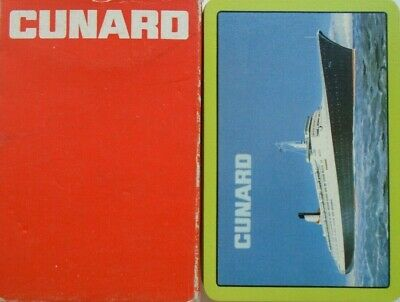 Vintage Cunard Line Qe2 Maiden Voyage Season 1969 Boxed Playing Cards