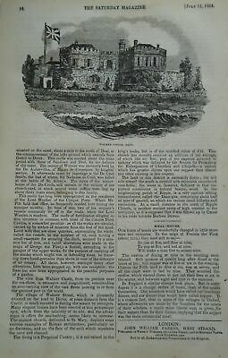 Antique Georgian/Victorian Walmer/Broadstairs/Canterbury Etc. Kent Print Bulk Lo