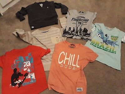 Boys Age 6-7 years Bundle: T-shirts & Sweat Top / Jumpers