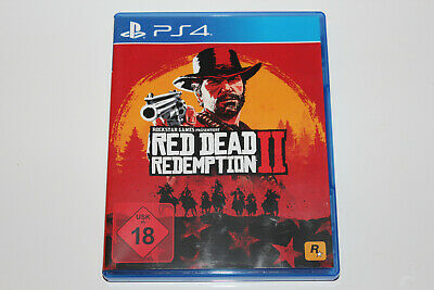 Red Dead Redemption II 2 PlayStation 4 , PS4 , PS 4