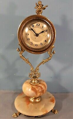 Vintage Mantel/Desk Clock, Working order