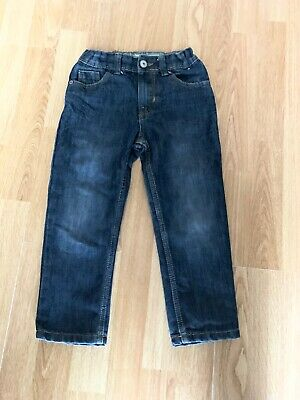 Boys Blue Slim Jeans With Adjustable Waist From Denim Co Age 5-6 Years