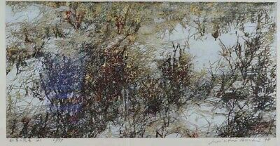 Limited edition Joichi HOSHI print WITHERED GRASS 1978