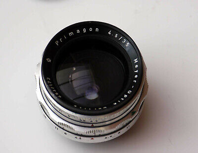 MEYER OPTIK GORLITZ PRIMAGON 35mm f4.5 Preset Lens EXAKTA fit