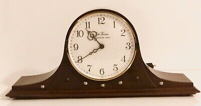 Vintage Seth Thomas Mantel Clock Westminster Chime Franz Hermle Germany Woodbury