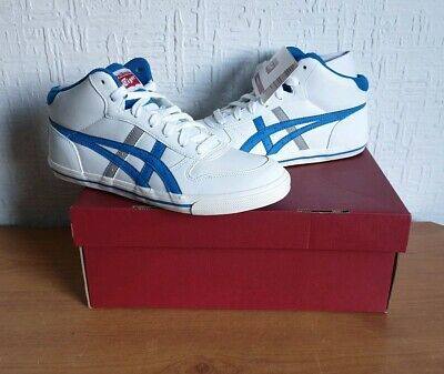 Women's Onitsuka Tiger (ASICS) Aaron Mid White Casual Trainers Size UK 5/Eur 38