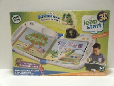LeapFrog LeapStart 3D Interactive Learning System With Animations Game Toys