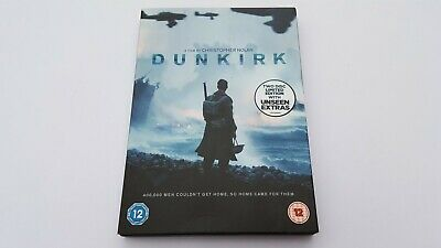 'DUNKIRK' Film, 2017, Two DVDs Limited Edition, Extras & Digital Download Code.