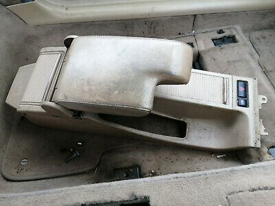 bmw e46 330 m-sport convertible genuine bmw leather armrest and console