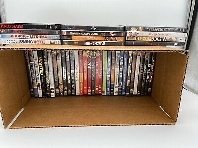 43 DVDs LOT WHOLESALE ASSORTED  Movies & TV Shows