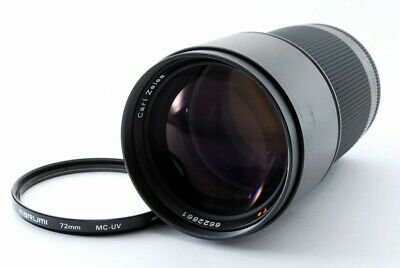 Contax Carl Zeiss Sonnar T* 180mm F/2.8 MF Prime Lens MMJ Excellent