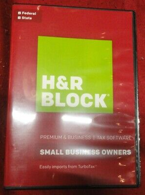 H&R BLOCK Premium Small BUSINESS @ 2016 @ Tax Software FEDERAL State