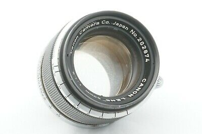 """""""TESTED / EXC"""" CANON 50mm f1.8 Leica screw mount L39 LTM From JAPAN"""