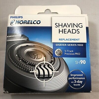 Genuine Philips Norelco Series 9000 3x Replacement Shaver Head SH90/62