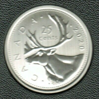 2020 Specimen 25 Cents Very Nice Coin, Taken From Set