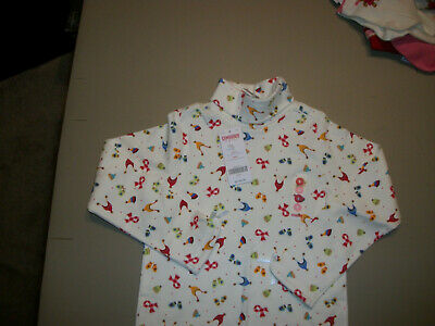 NWT Gymboree --Sugar N Spice--White Hats & Mittens T-Neck Top~~Size--6