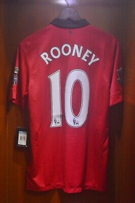 Brand New Official Manchester United Home 2013/14 Shirt ROONEY Size Medium