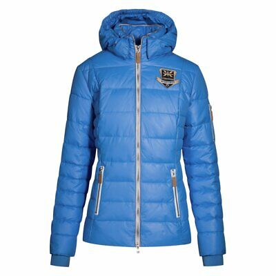 Chriwen Jacke Modell iceflower, Farbe aquablue