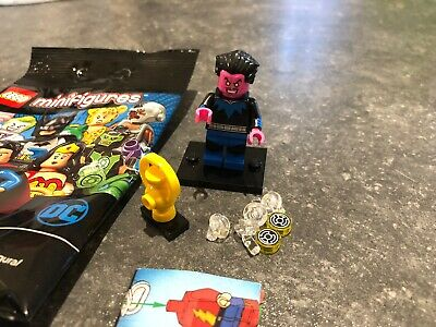 Lego Minifigures DC Comics Superheroes 71026 Sinestro. New But Opened.