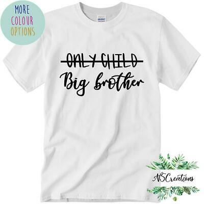 Only child Big Brother t shirt  big brother reveal shirt pregnancy announcement