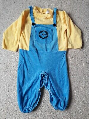 Despicable Me Minions Dave Toddler Fancy Dress Costume 1-2 Years World Book Day