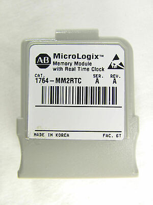 Allen Bradley, MicroLogix 1500, Memory with Real Time Clock, 1764-MM2RTC, SER A