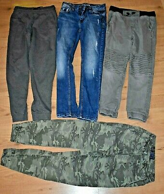 Used VGC Boys Trousers Jeans Joggers  9-10 y 4 pairs Next H&M Bundle
