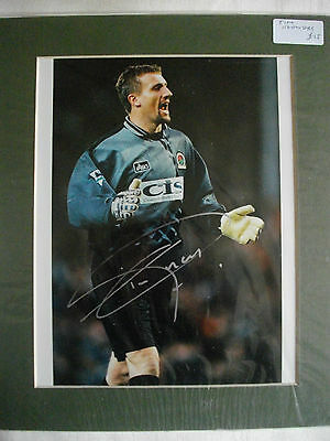 Tim Flowers Autographed Mounted Photo Blackburn Rovers