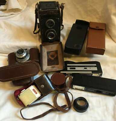 VINTAGE 1930/40s Rolleicord Camera with Twin Zeiss