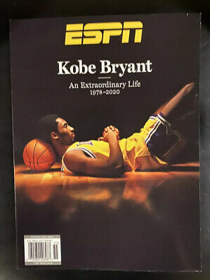 ESPN Magazine - KOBE BRYANT Tribute Issue Special Edition 2020