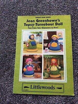 Jean Greenhowe Topsy Turnabout Dolls  Knitting Pattern Booklet