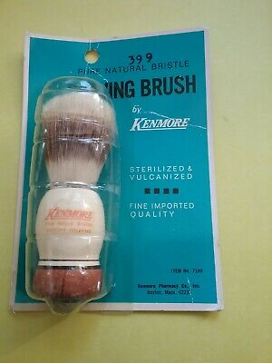 Kenmore shave brush NOS 1970's