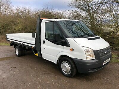 2014 Ford Transit 2.2 Tdci Lwb T350 125 Alloy Dropside Pickup Rwd Euro 5 6 Speed