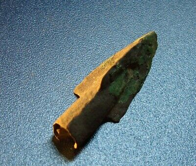Ancient arrowhead Big 7 - 2 nd century BC bronze. RARE.ORIGINAL.