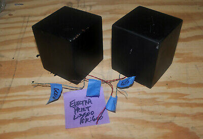 (2) ELECTRA PRINT Line output transformers, 10K:600 ohm