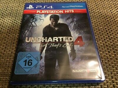 Uncharted 4 PS4 Spiel Game A Thiefs End