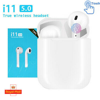 i11 TWS WIRELESS HEADPHONES STEREO BLUETOOTH EARPHONE HEADSET FOR IPHONE ANDROID