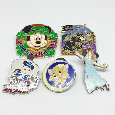 Disney Trading Pin Badges Job Lot Bundle Mickey Minnie Mouse Limited Edition 500