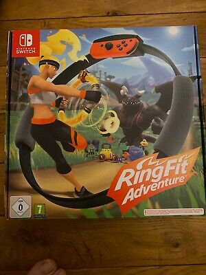Ring Fit Adventure Nintendo Switch Brand Game New Official BNIB Buy It Now