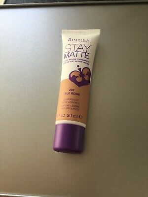 Rimmel London Stay Matte Foundation True Beige 203