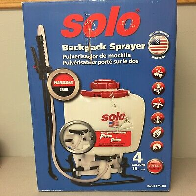 Solo 425-101 Adjustable Spray Tip Backpack Sprayer 4 gal.