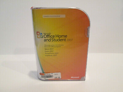 Microsoft Office Home and Student 2007 Genuine With Product Key