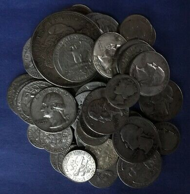 FREE SHIP/'N SWEET DEAL,$1.75 FACE VALUE,ALL 90/% SILVER NOT JUNK GOOD STUFF