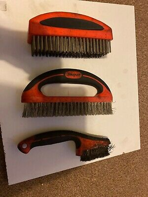 Snap On 3pc Wire Brush Set