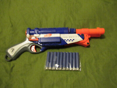 Nerf Barrel Break Elite shotgun gun + darts modulus nurf elite nstrike