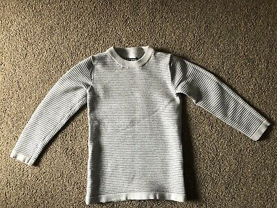 Next Boys Natural Ribbed Jumper 3 Yrs **IMMACULATE WORN ONCE**