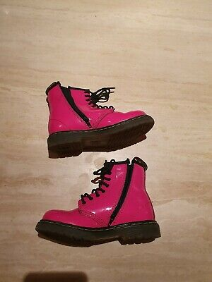 Dr martens Patent Girls Boots 9